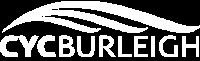 White CYC Burleigh Logo